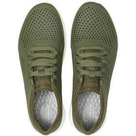 Crocs LiteRide Pacer Chaussures Homme, army green/white